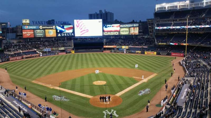 Seating view for Yankee Stadium Section suite Row a Seat 1