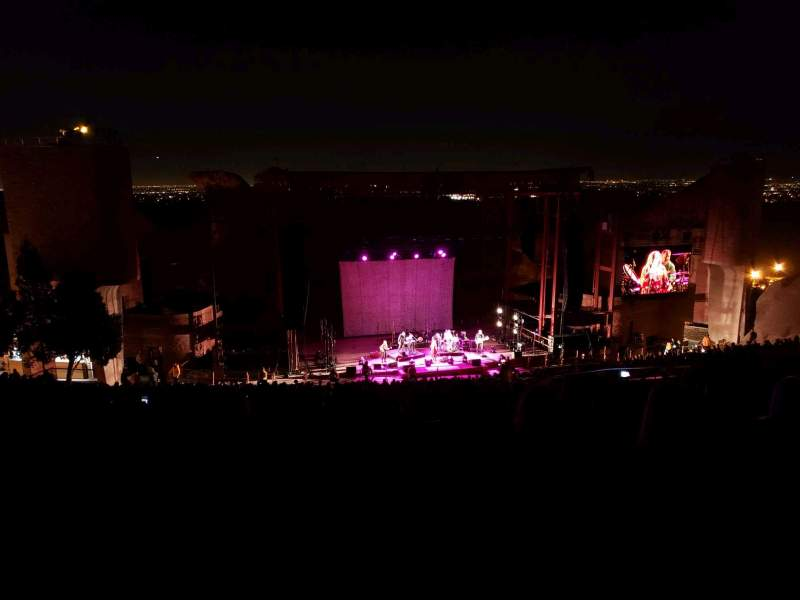 Seating view for Red Rocks AmphitheatreRow 32 Seat 109