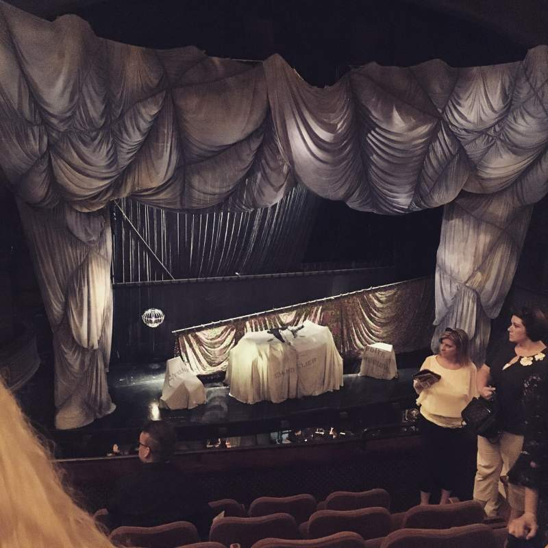 Seating view for Majestic Theatre Section Front Mezzanine L Row F Seat 9