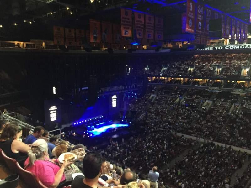 Wells Fargo Center, section: 203, row: 11, seat: 19