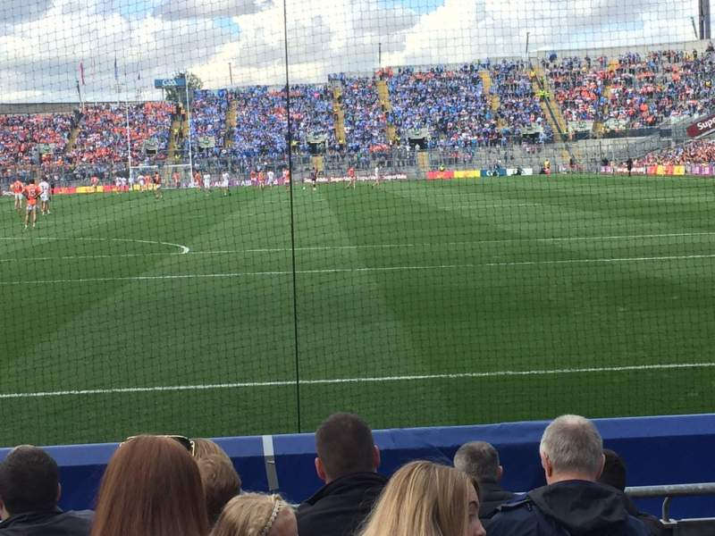 Seating view for Croke Park Section 317 Row H Seat 24