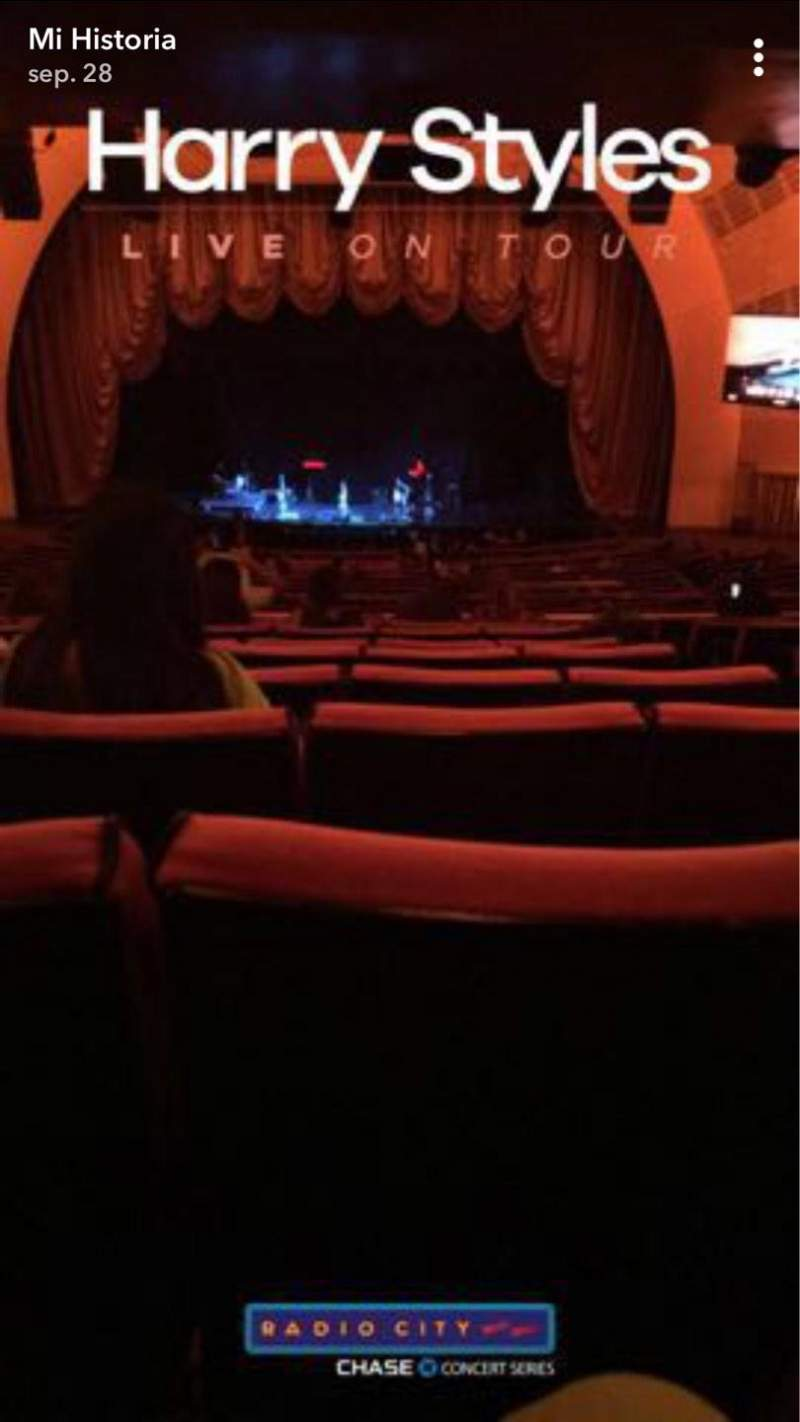 Seating view for Radio City Music Hall Section 1ST Mezzanine 4 Row K Seat 402