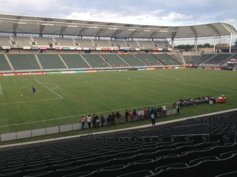 Seating view for Stubhub Center Section 115 Row Z Seat 8