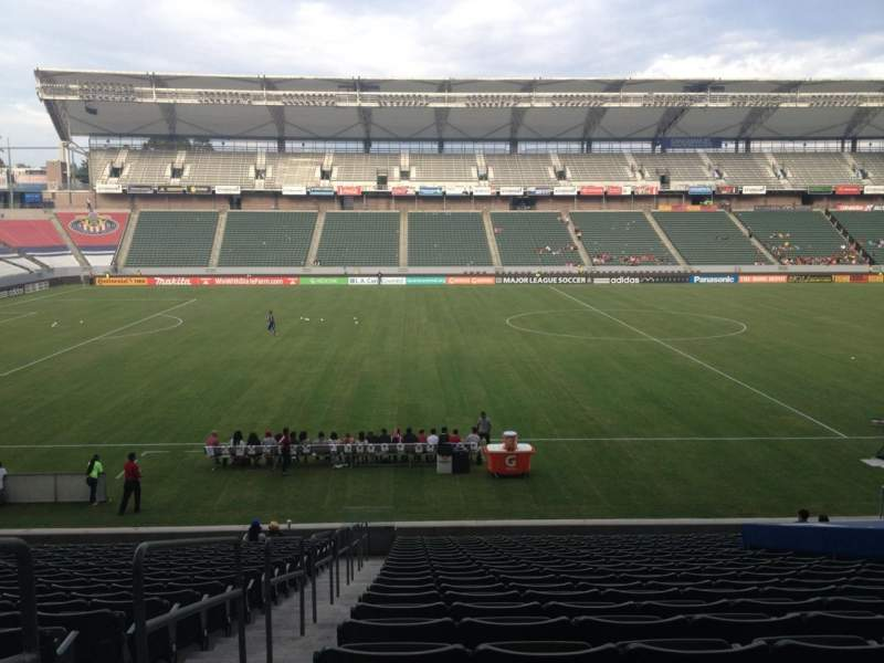 Seating view for Stubhub Center Section 112 Row X Seat 22