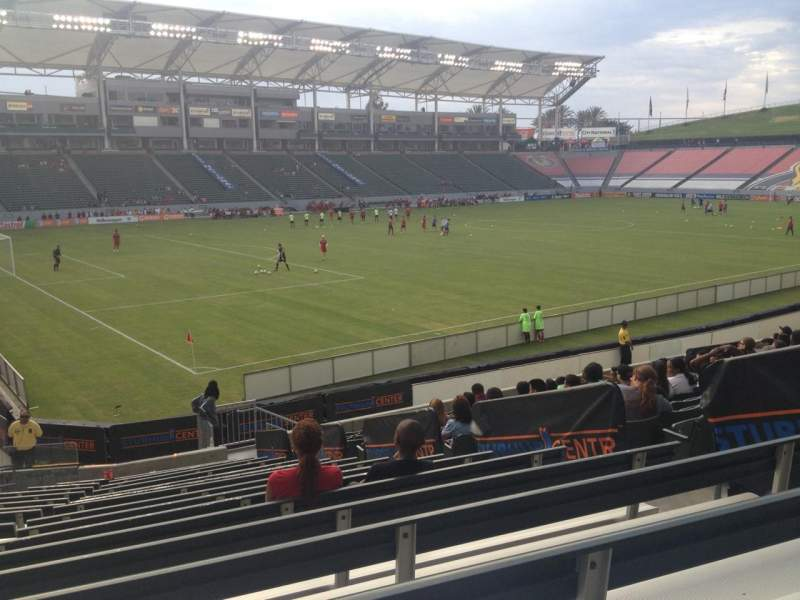 Seating view for Stubhub Center Section 137 Row S Seat 7