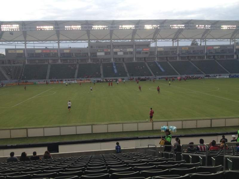 Seating view for Stubhub Center Section 134 Row R Seat 5