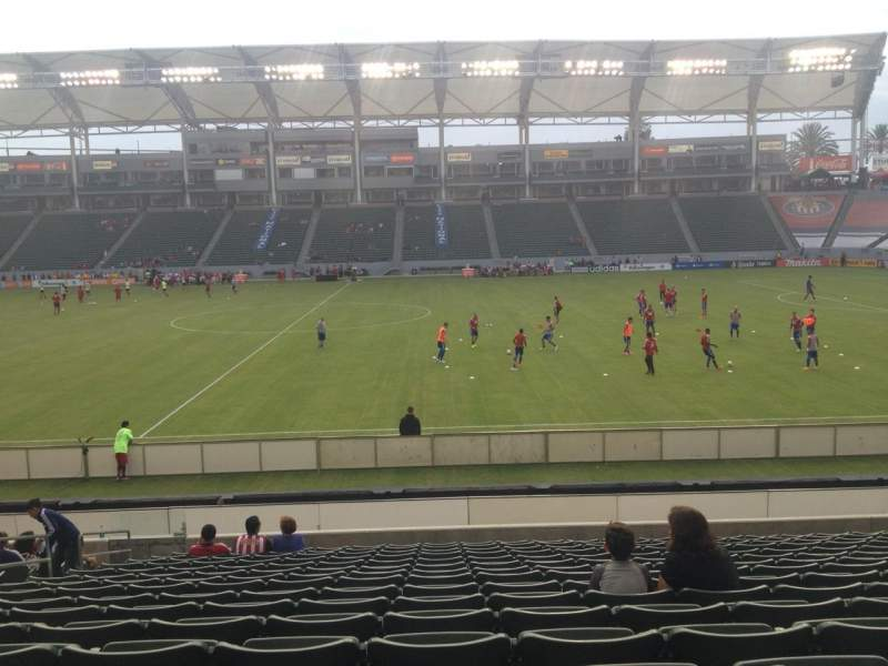 Seating view for Stubhub Center Section 131 Row R Seat 15