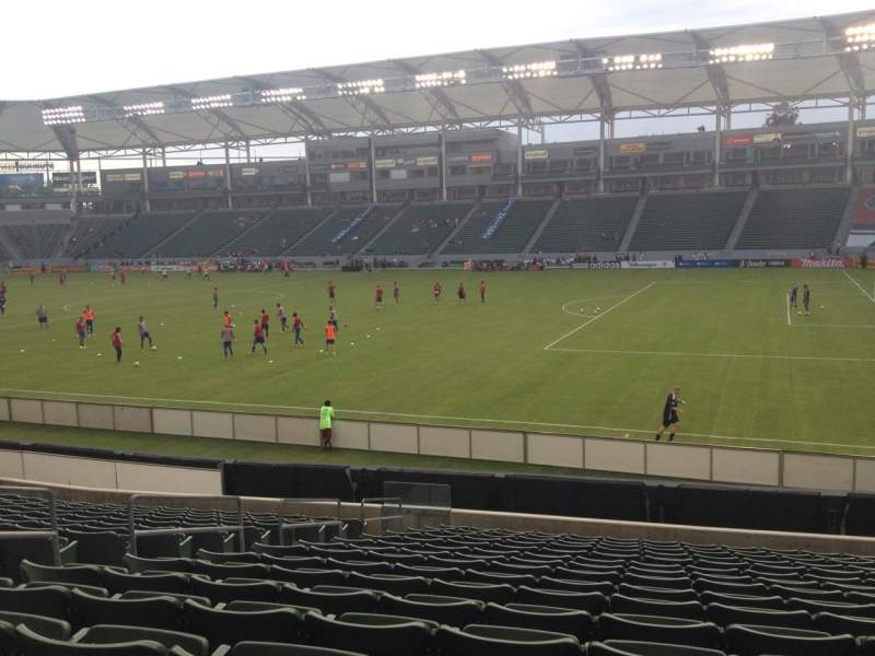 Seating view for Stubhub Center Section 128 Row R Seat 16
