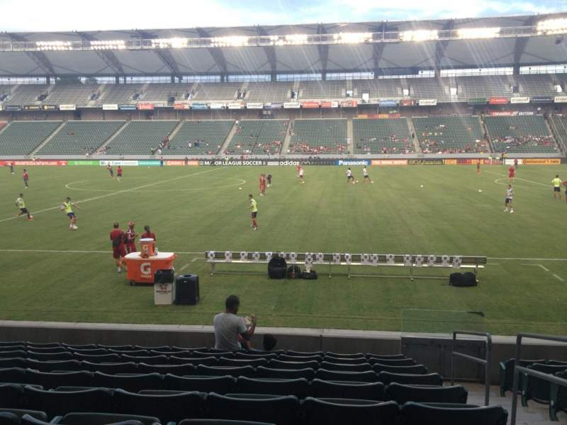 Seating view for Stubhub Center Section 110 Row K Seat 2