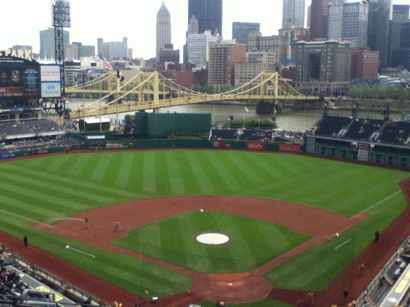 Seating view for PNC Park Section 317 Row P Seat 9