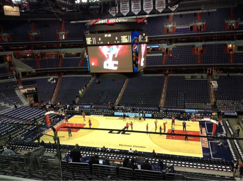 Seating view for Verizon Center Section Suite 339 Row A Seat 1