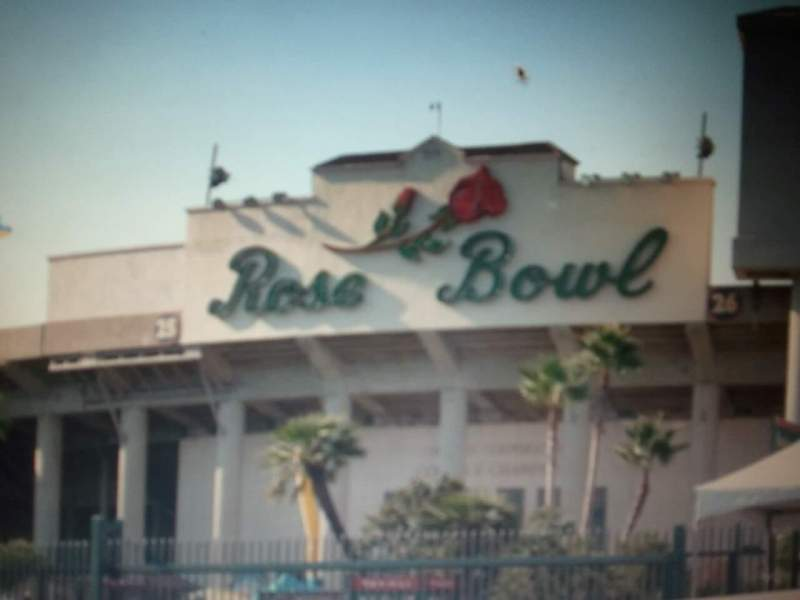 Seating view for Rose Bowl