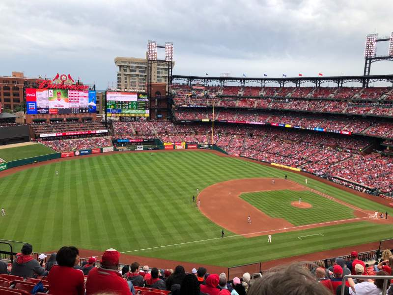 Seating view for Busch Stadium  Section 361 Row 12 Seat 5