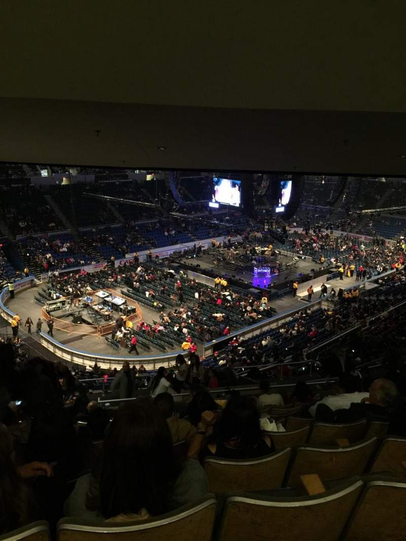 Seating view for Old Nassau Veterans Memorial Coliseum Section 308 Row O Seat 15