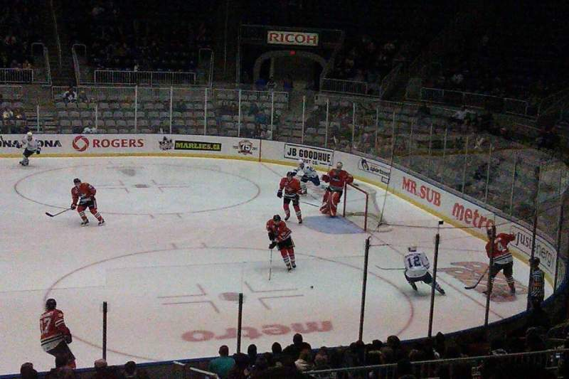 Seating view for Coca-Cola Coliseum Section 119 Row M  Seat 16