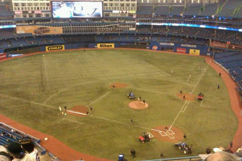 Seating view for Rogers Centre Section 526R Row 10 Seat 2