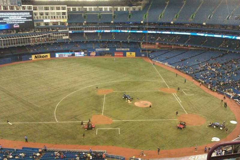 Seating view for Rogers Centre Section 529L Row 12 Seat 103