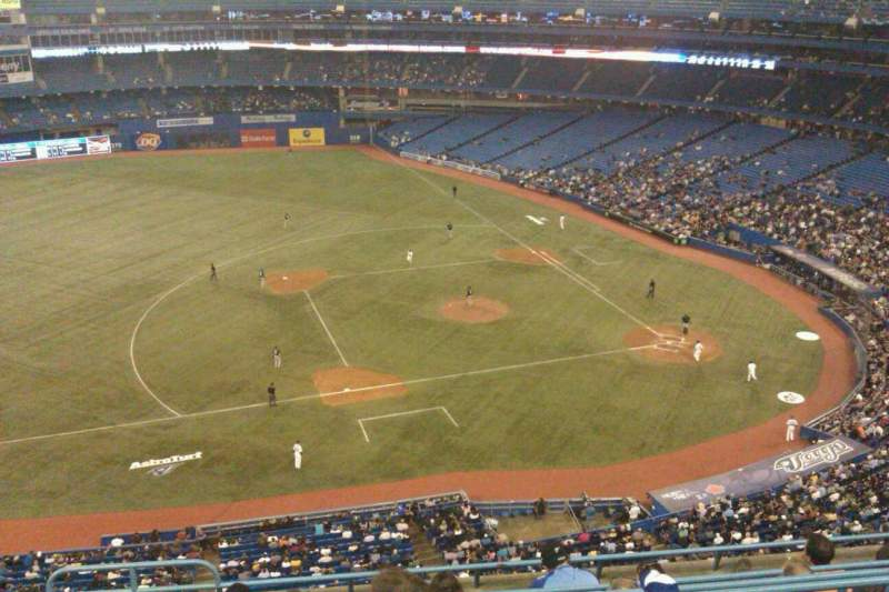 Seating view for Rogers Centre Section 531R Row 8 Seat 1