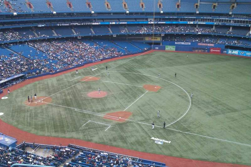 Seating view for Rogers Centre Section 516R Row 7 Seat 2