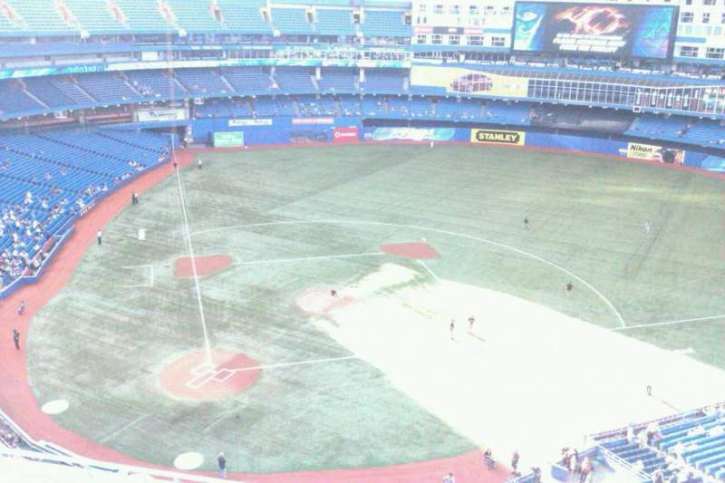 Seating view for Rogers Centre Section 521L Row 8 Seat 102
