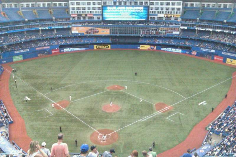 Seating view for Rogers Centre Section 524R Row 20 Seat 4