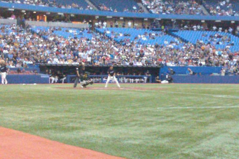 Seating view for Rogers Centre Section 115L Row AA Seat 103