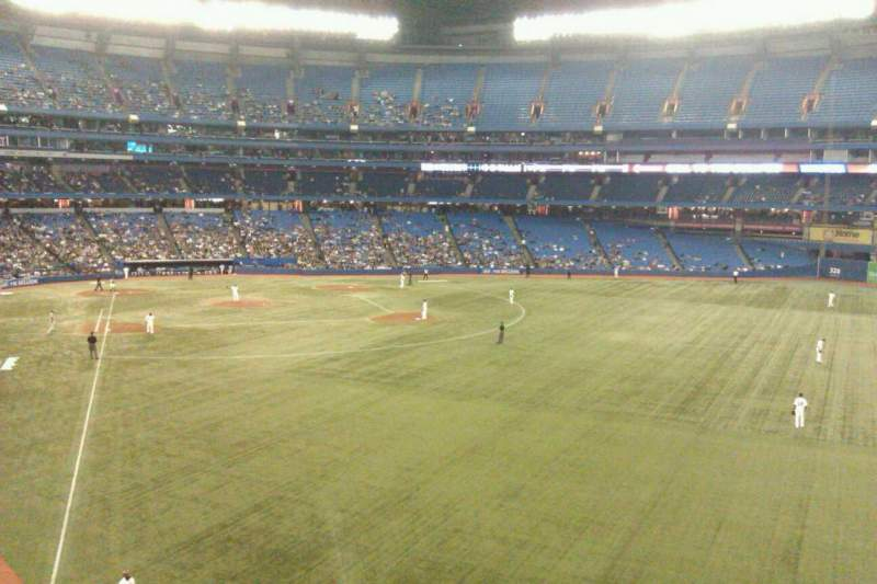 Seating view for Rogers Centre Section 209 Row 3 Seat 101