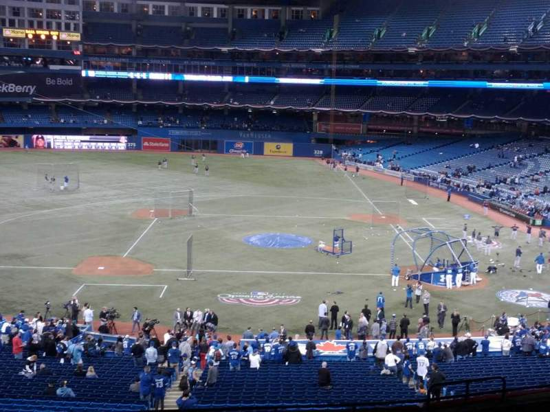 Seating view for Rogers Centre Section 229R Row 12 Seat 6