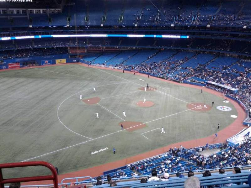 Seating view for Rogers Centre Section 533R Row 12 Seat 2