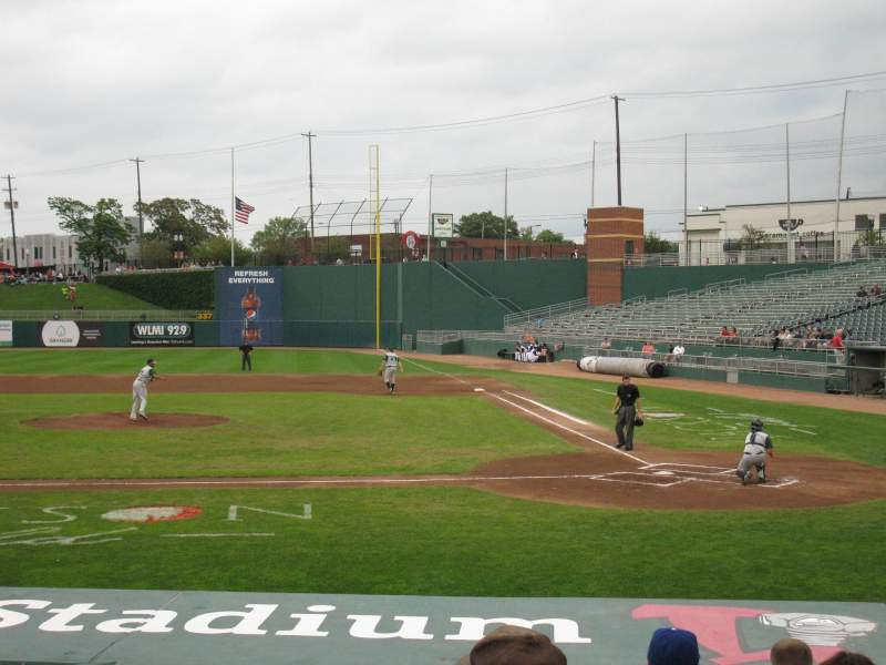 Seating view for Cooley Law School Stadium Section M Row 11 Seat 4