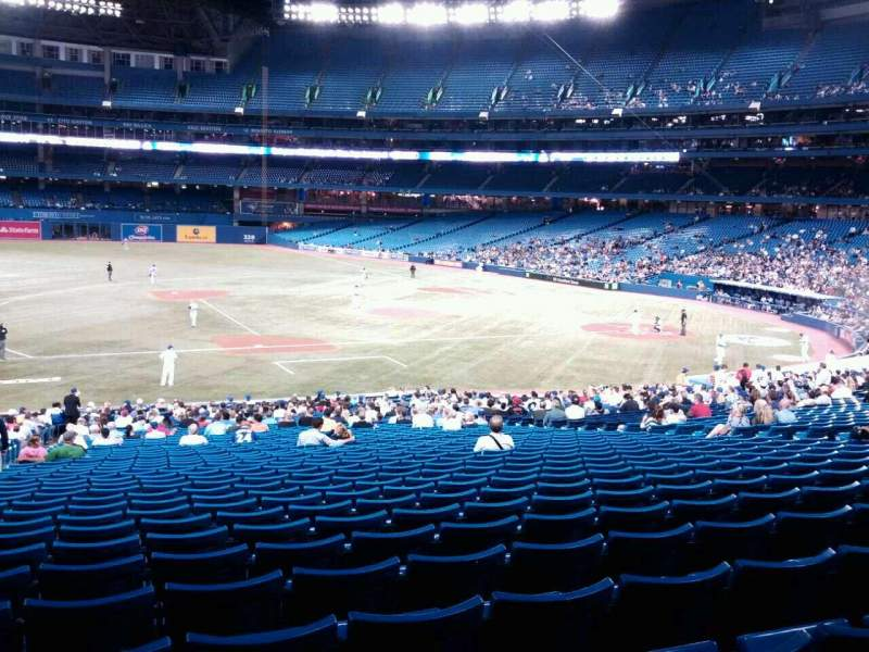 Seating view for Rogers Centre Section 128 Row 40 Seat 4