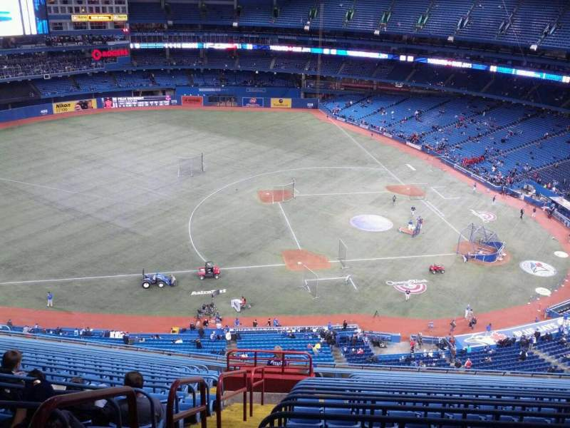 Seating view for Rogers Centre Section 531R Row 21 Seat 2