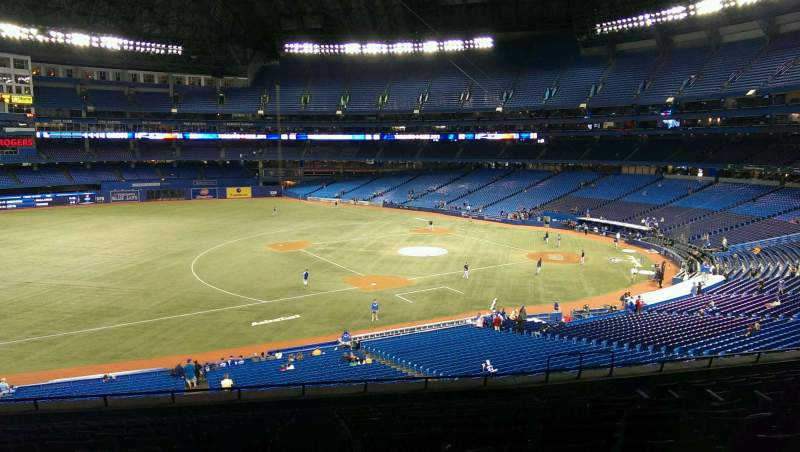 Seating view for Rogers Centre Section 232
