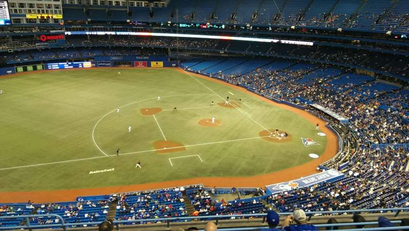 Seating view for Rogers Centre Section 531R Row 7 Seat 3