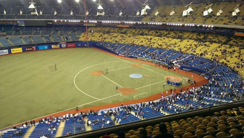 Seating view for Olympic Stadium, Montreal Section 426 Row A Seat 5
