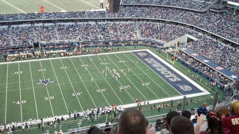 Seating view for AT&T Stadium Section 412