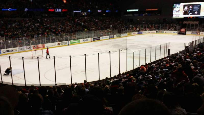 Seating view for Van Andel Arena Section 126 Row S Seat 13