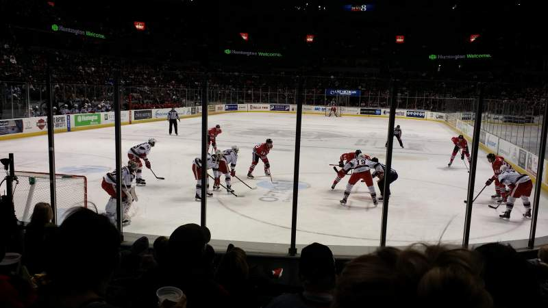 Seating view for Van Andel Arena Section 114 Row g Seat 4