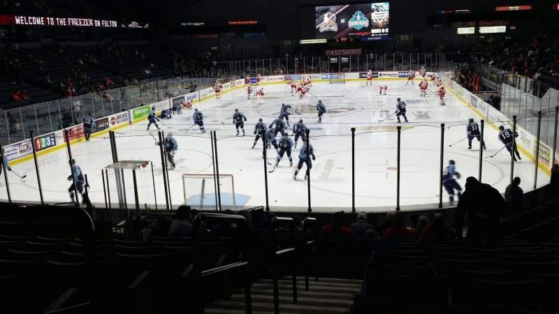 Van Andel Arena, section: 128, row: R, seat: 12
