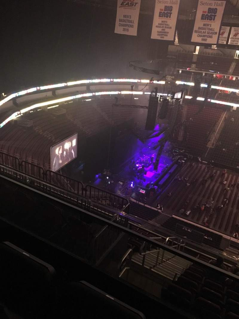 Seating view for Prudential Center Section 228 Row 3 Seat 4