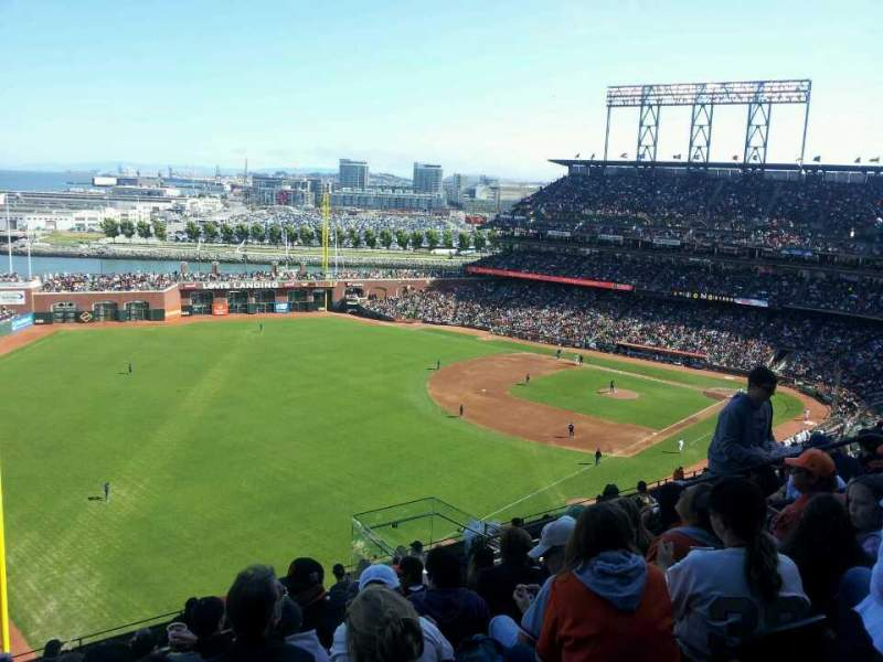 Seating view for AT&T Park Section 332 Row 9 Seat 10