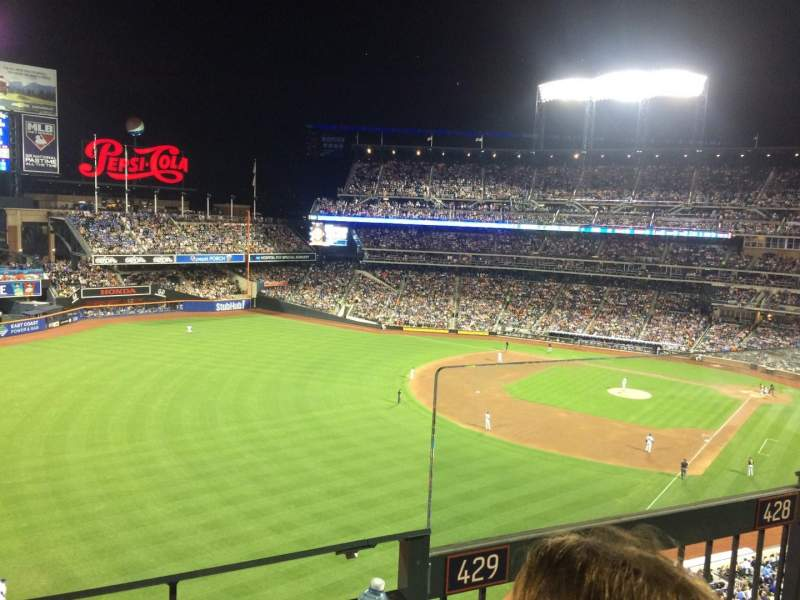 Seating view for Citi Field Section 429 Row 2 Seat 2
