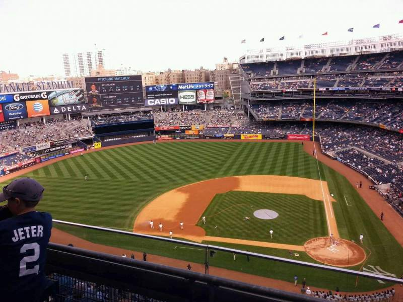 Seating view for Yankee Stadium Section 423 Row 2 Seat 3