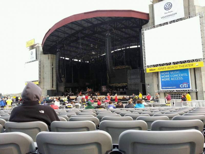 Seating view for Jones Beach Theater Section G Row SS Seat 17