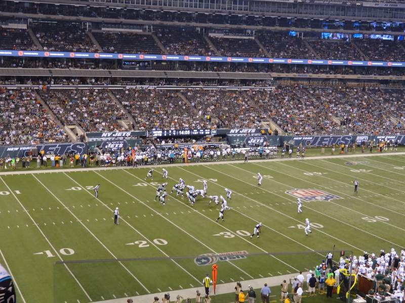 Seating view for MetLife Stadium Section 218 Row 3 Seat 13