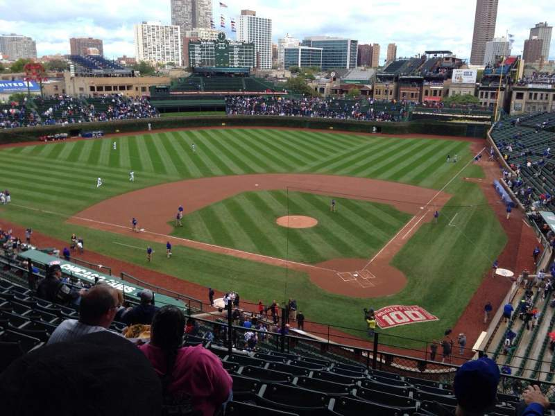 Seating view for Wrigley Field Section 418 Row 9 Seat 5