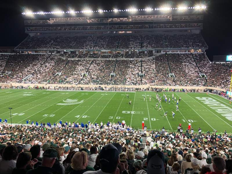 Seating view for Spartan Stadium Section 7 Row 52 Seat 20