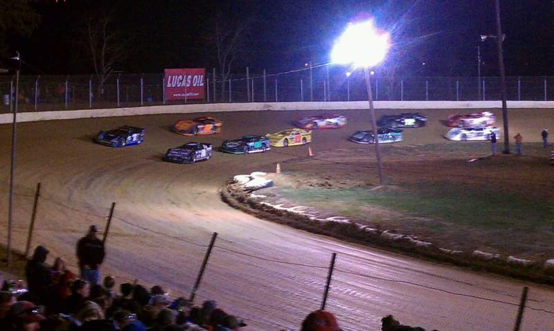 Seating view for Florence Speedway