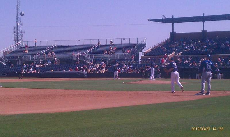 Seating view for Peoria Sports Complex Section 117 Row A Seat 1