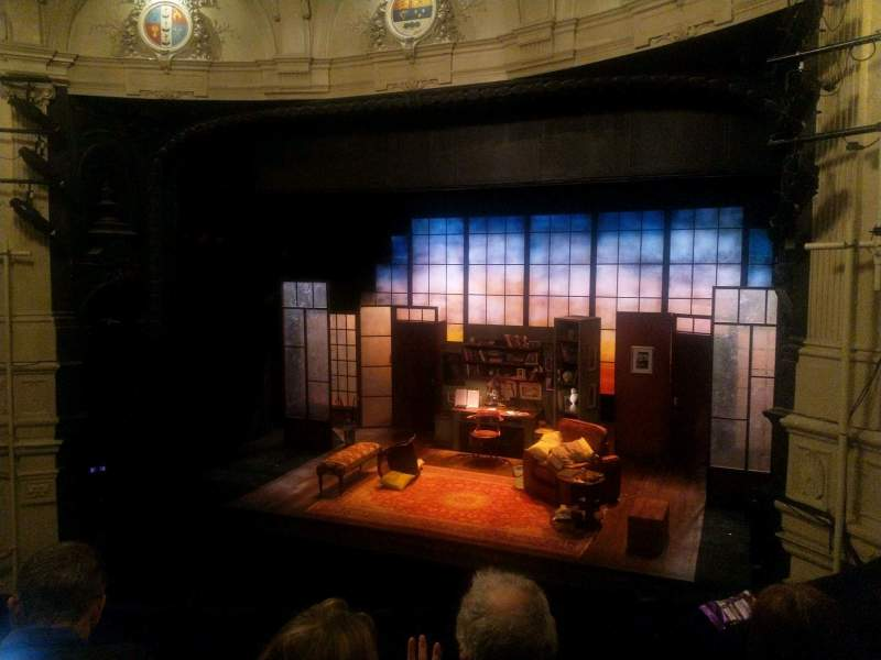 Seating view for Ambassadors Theatre Section Circle Row C Seat 3